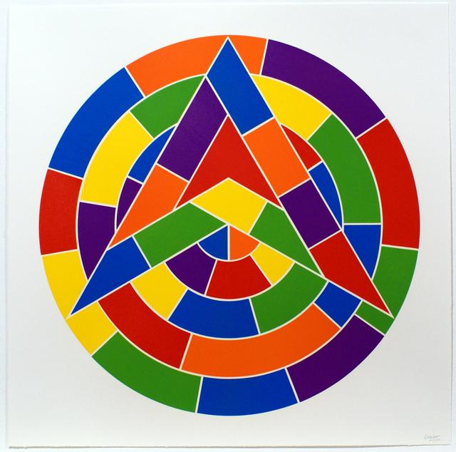 Sol LeWitt, 'Tondo 1 (3 point star)', 2002, Bernard Jacobson Gallery