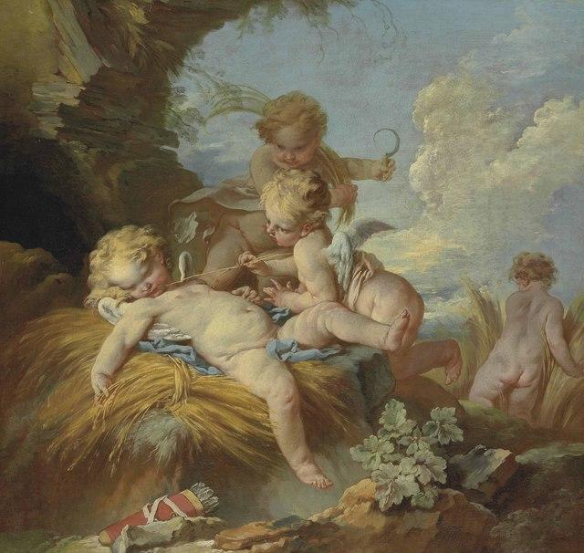 , 'L'Amour moissonneur,' , Christie's Old Masters