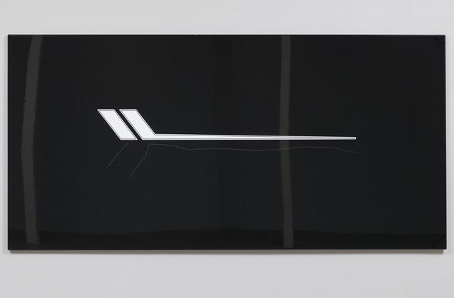 , 'Rip-on 009,' 2016, Galleri S.E