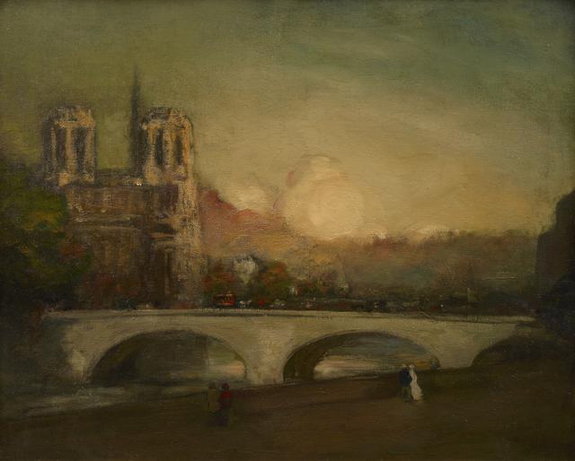 , 'Ile de la Cite,' 1900, Debra Force Fine Art
