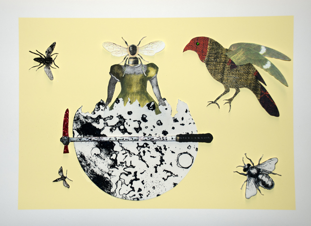 , 'Balance,' 2015, Sydney Printmakers