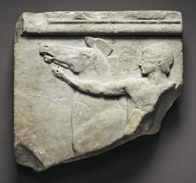 'Votive Relief (The Cottenham Relief)', ca. 500 BCE, J. Paul Getty Museum