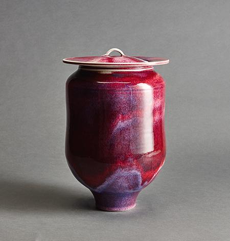 , 'Vase, rouge flambé glaze,' , Pucker Gallery