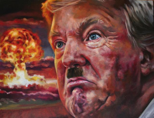 Layla Folkmann, 'Trumpler', 2020, Painting, Oil on Canvas, BBAM! Gallery