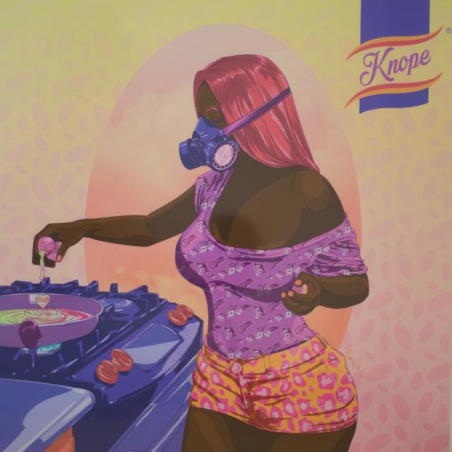 , 'Cooking Woman,' 2016, Modzi Arts