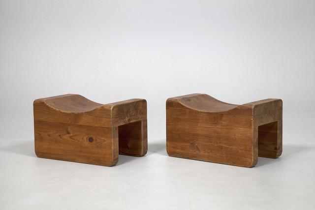 , 'Pair of  'Utö' Stools,' ca. 1930, Jacksons