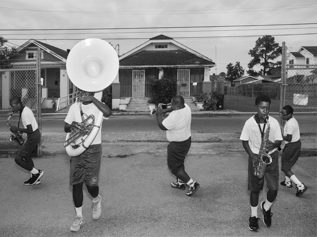 , 'St. Augustine High School Marching Band,' 2015, Weinstein Gallery - Minneapolis