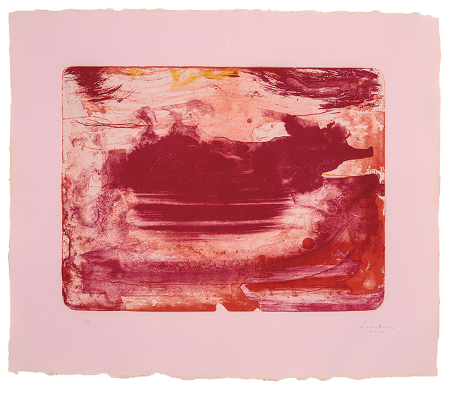 , 'The Red Sea,' 1978-1982, michael lisi / contemporary art