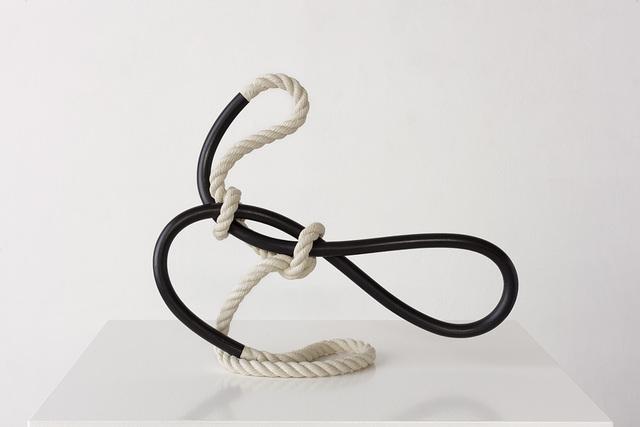 , 'Standing Form (hooped),' 2019, David Kordansky Gallery