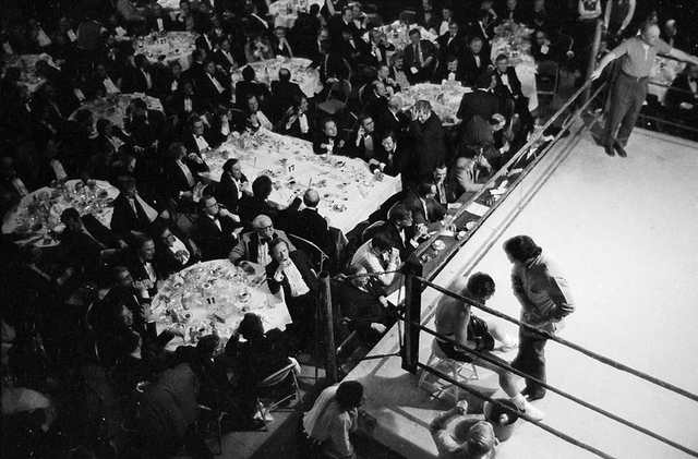 , 'Boxing at the Harvard Club,' 1976, ClampArt