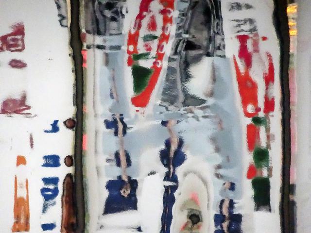 , 'White, Red, Blue & Green #1,' 2016, Ben Brown Fine Arts