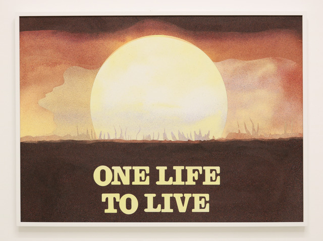 , 'One Life to Live,' 2018, Halsey McKay Gallery