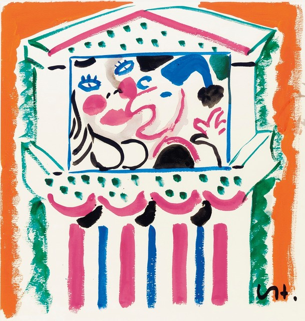 , 'Punch and Judy IV,' 1984, Omer Tiroche Gallery
