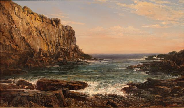 , 'Maine Coast, Baldhead Cliffs,' 2019, The Guild of Boston Artists