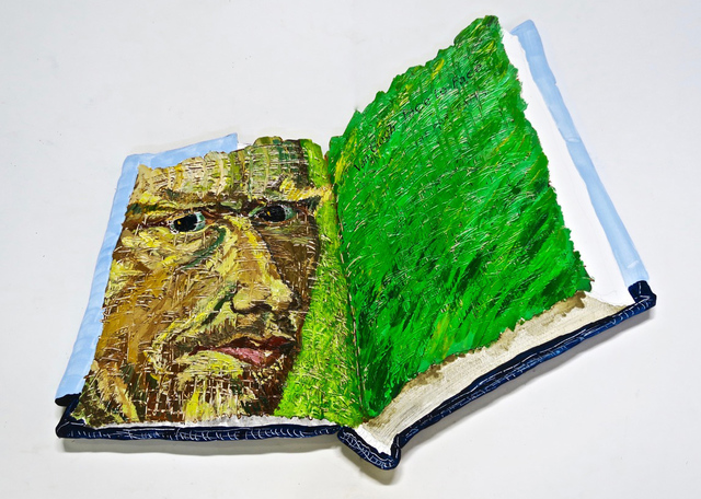 , 'Van Gogh Face to Face,' 2016, Clark Gallery