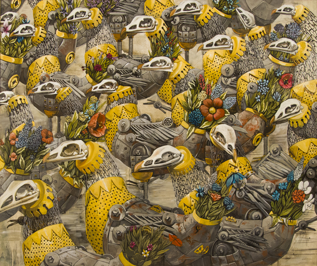 , 'Chickens,' 2015, HG Contemporary