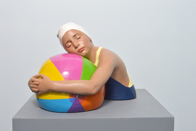 , 'Miniature Brooke with Beach Ball,' 2017, Madison Gallery