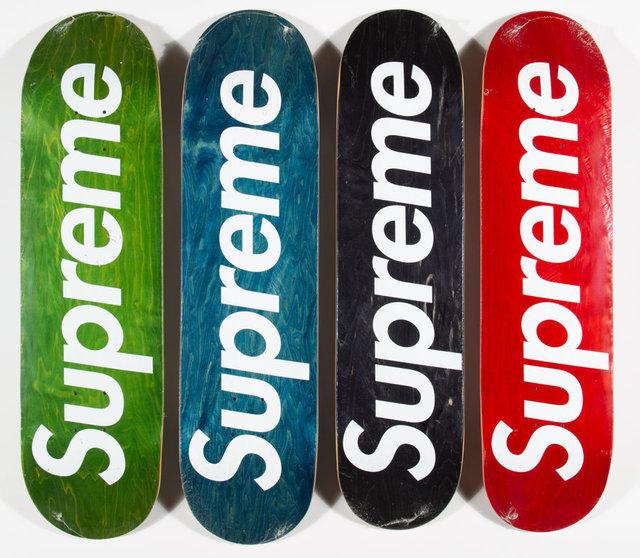 Supreme, 'Logo Decks, set of four', 2008, Heritage Auctions