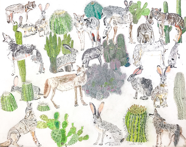 Nicole Appel, 'Cacti, Coyotes, and Jackrabbits', 2017, Land Gallery/NAP Projects
