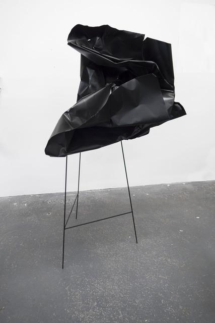 , 'Black Fold #9,' 2017, Carolina Nitsch Contemporary Art