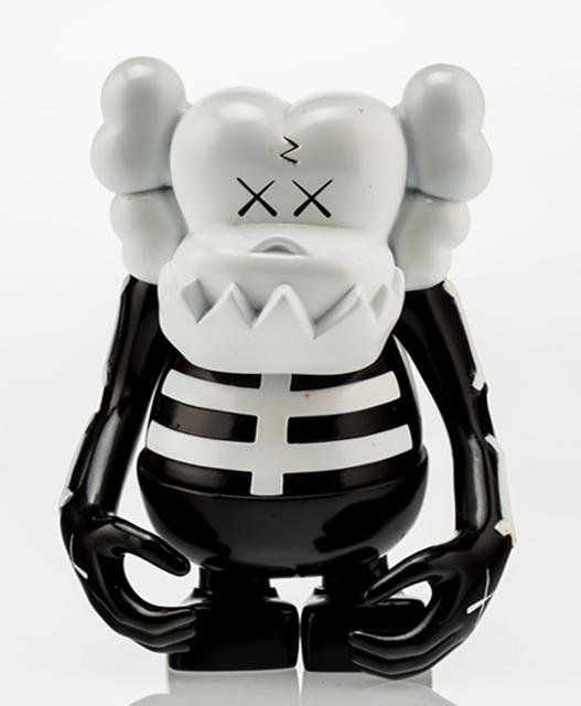KAWS, 'KAWS X BOUNTY HUNTER SKULL KUN BLACK AND WHITE', 2006, Marcel Katz Art