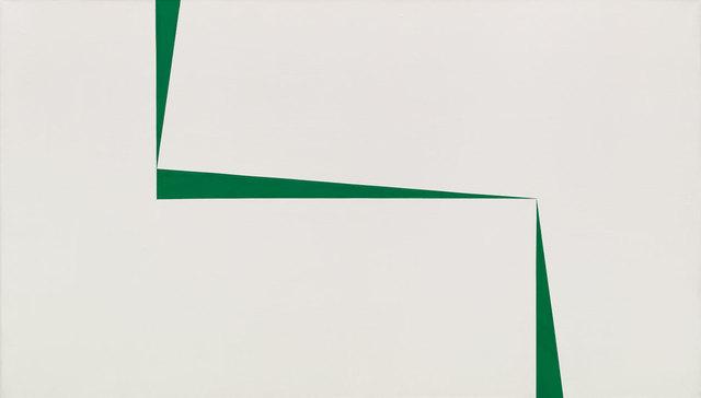 , 'Blanco y Verde,' 1967, Whitney Museum of American Art