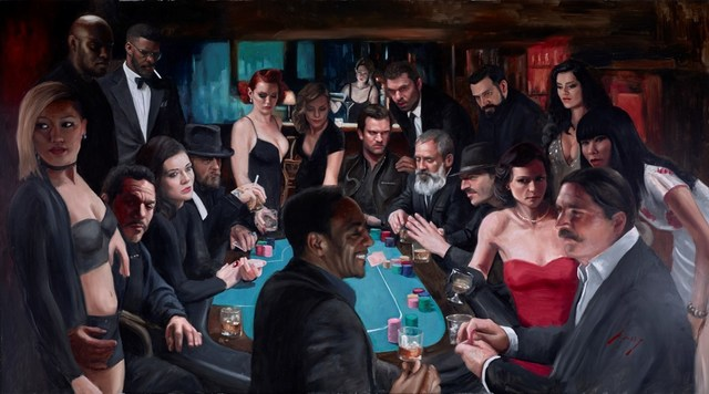 , 'The Long Game ,' 2018, Clarendon Fine Art