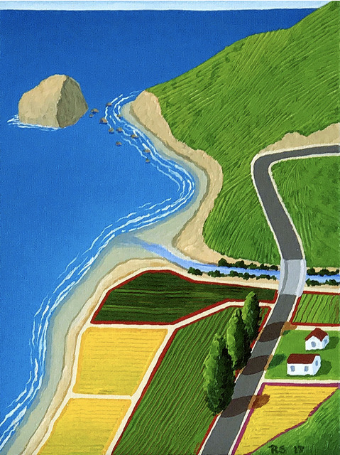 Richard Stein, 'Cape Mendocino Fields', Tim Collom Gallery