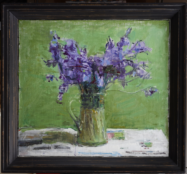 , 'Blue Flowers,' , Jonathan Cooper
