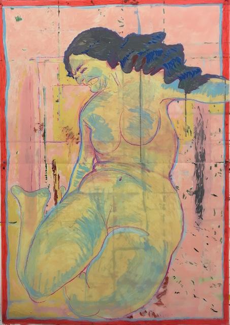 , 'never had a mattress i did not like,' 2017, Fridman Gallery