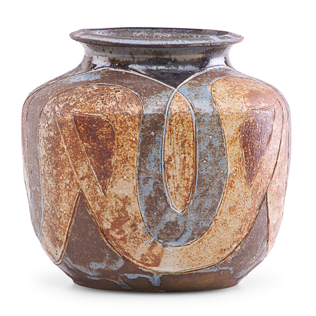 Marguerite Wildenhain, 'Vase with abstract design, Guerneville, CA', Rago