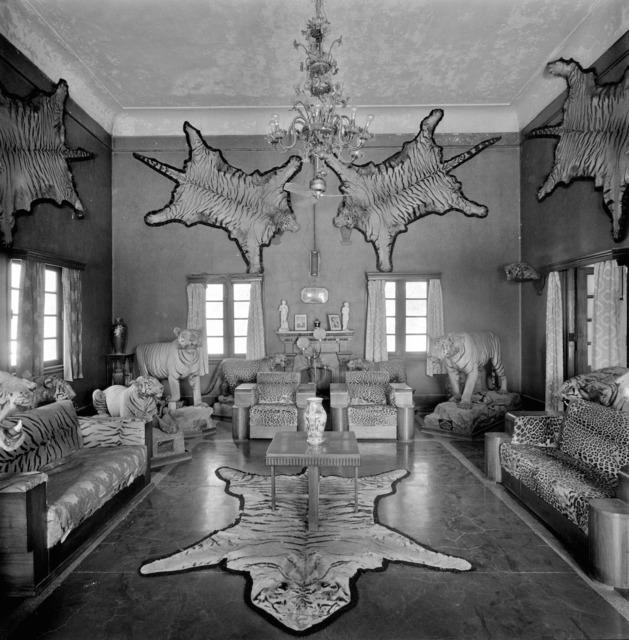 , 'Trophy room in a private residence,' 1980, Tasveer