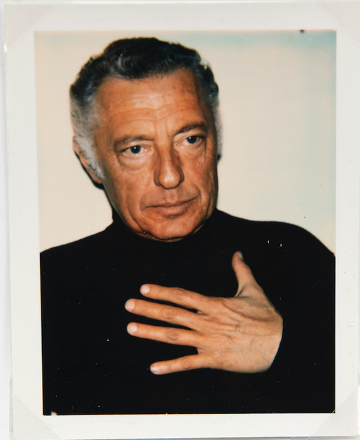 Andy Warhol, 'Andy Warhol, Polaroid Photograph of Gianni (Giovanni) Agnelli, 1972', 1972, Hedges Projects
