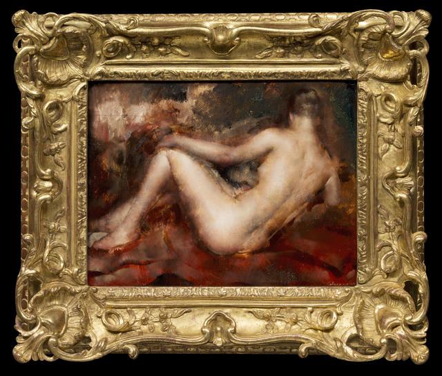 , 'Nu de Dos,' 20th Century, Galerie de Souzy