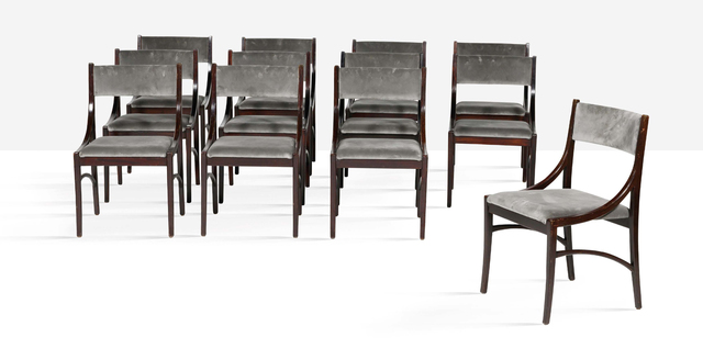 Ico Parisi, 'Set of 12 chairs', 1961, Aguttes