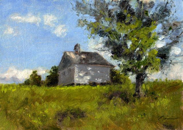, 'Shed,' 2010, Clyde Hogan Fine Art