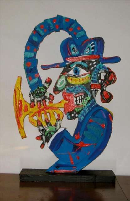 , 'Trumpeter.,' , IAZ Art Gallery