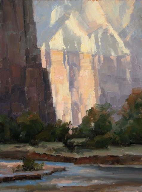 Dave Santillanes, 'Zion Light, Study', 2015, Abend Gallery
