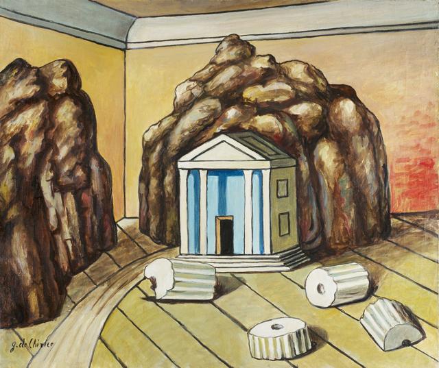 , 'Tempio e rocce in una stanza,' mid 1970s, Nahmad Projects