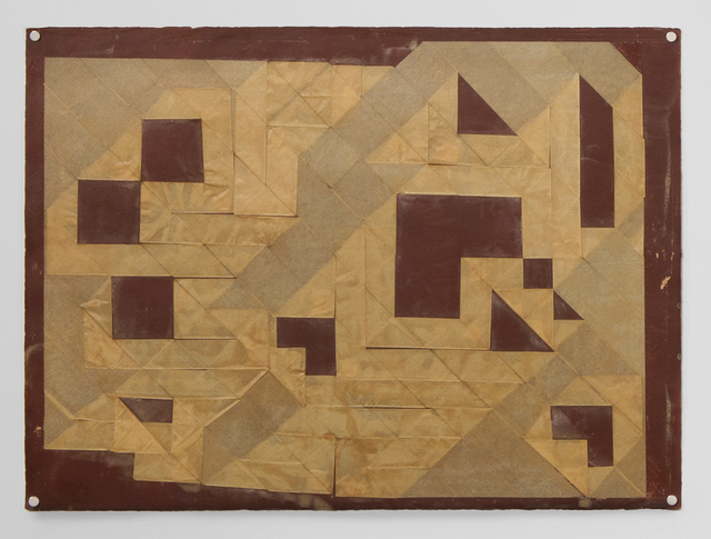 , 'Untitled (Folded Tape Releifs),' 1987, Simone DeSousa Gallery