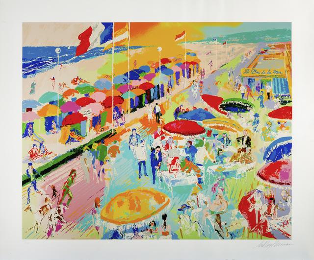 LeRoy Neiman, 'La Plage au Deauville', 1996, Modern Artifact