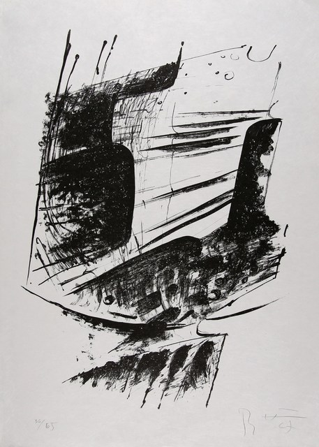 Bernhard Heiliger, 'Untitled Abstract Expressionist Composition', 1966, Cerbera Gallery