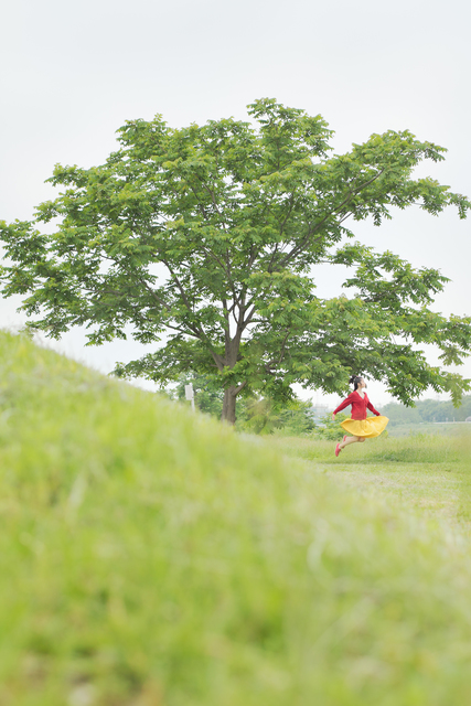 Natsumi Hayashi, 'Today's Levitation 04/27/2011', 2011, Photography, Lambda print, Richard Levy Gallery