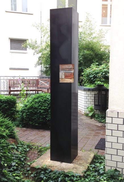 , 'column house Martinsplatz 1,' 2015, galerie burster