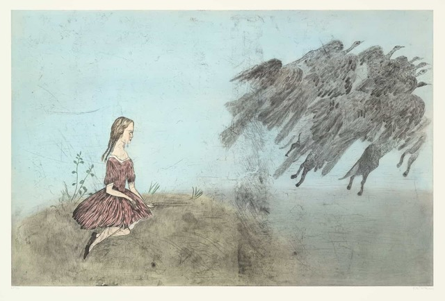 , 'Come Away From Her After Lewis Carroll,' 2003, Universal Limited Art Editions