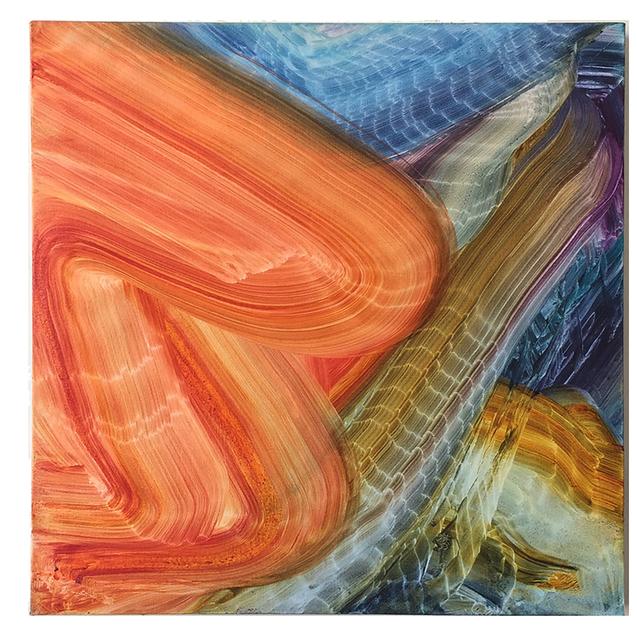 , 'orange burst,' 2017, HATHAWAY | Contemporary Gallery