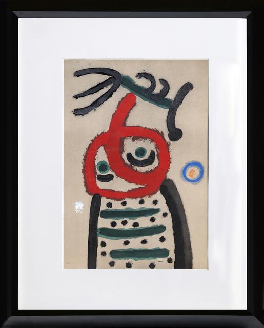 Joan Miró, 'Cartones 22: Femme et Oiseau', 1965, RoGallery