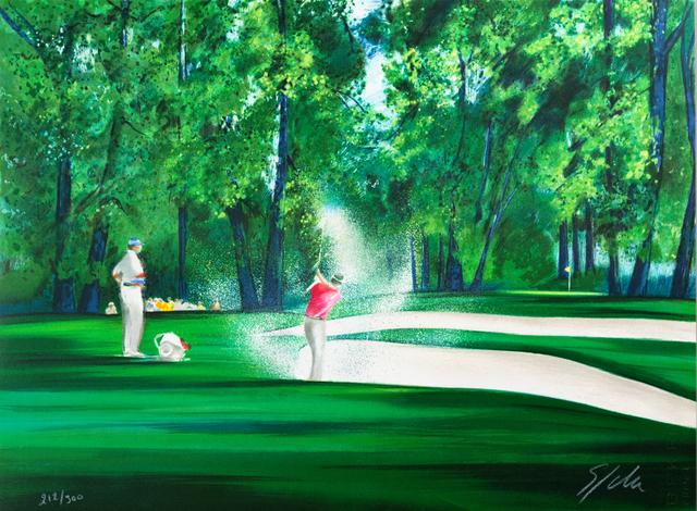 Victor Spahn, 'Golf', 2007, Art Lithographies