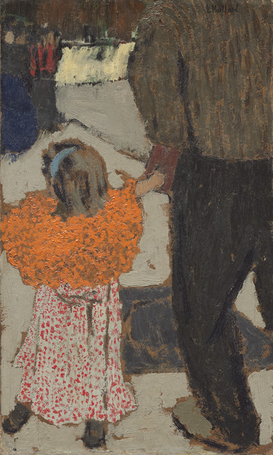 Édouard Vuillard, 'Child Wearing a Red Scarf,' ca. 1891, National Gallery of Art, Washington, D.C.