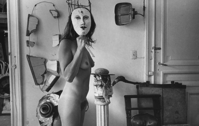 Liliana Maresca, '¨Untitled. Liliana Maresca with her artworks.¨', 1983, Rolf Art